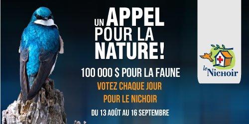 Un appel pour la nature !