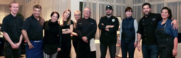 The Chefs at A Taste of Hudson 2017